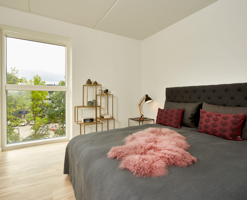 Depending on your needs, we offer 2 to 5 rooms on Kanalvej.